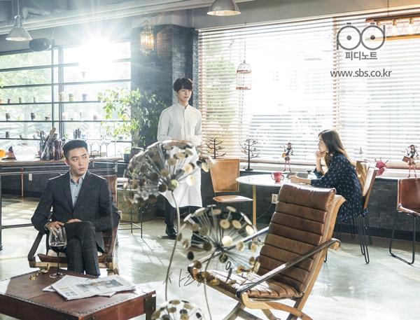 ▲SBS 새 월화드라마 '사랑의 온도'에 등장하는 레스토랑 세트(사진=SBS)