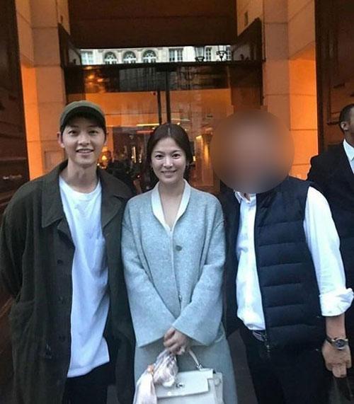 (출처=송중기 송혜교 SNS 팬 페이지)