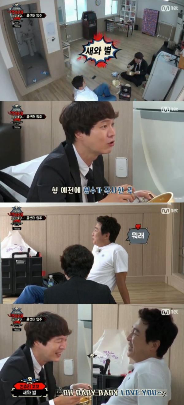 ▲신정환, 탁재훈(출처=Mnet '프로젝트S: 악마의 재능기부'방송캡처)