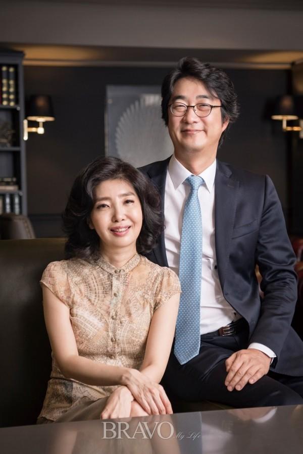 ▲여에스더와 남편 홍혜걸(박규민)