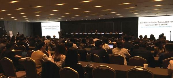 ▲지난 12일 서울 워커힐호텔에서 대한심장학회 회원 약 300여명이 참석한 가운데 열린 한미약품의 산학 심포지엄