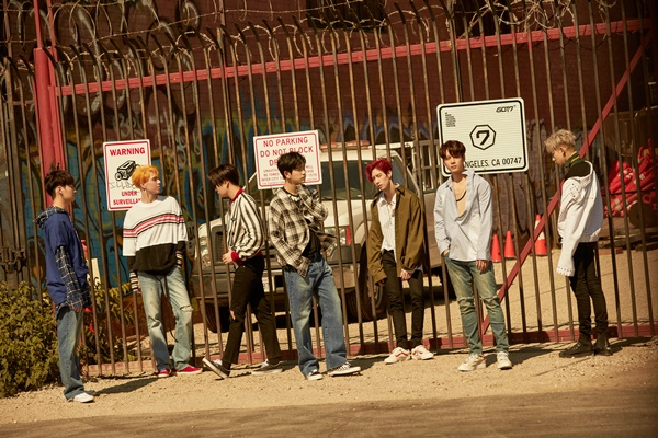 ▲그룹 갓세븐(사진=JYP엔터테인먼트)