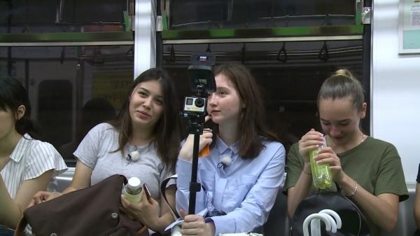 ▲러시아 출신 방송인 스웨틀라나의 친구들(사진=MBC에브리원)