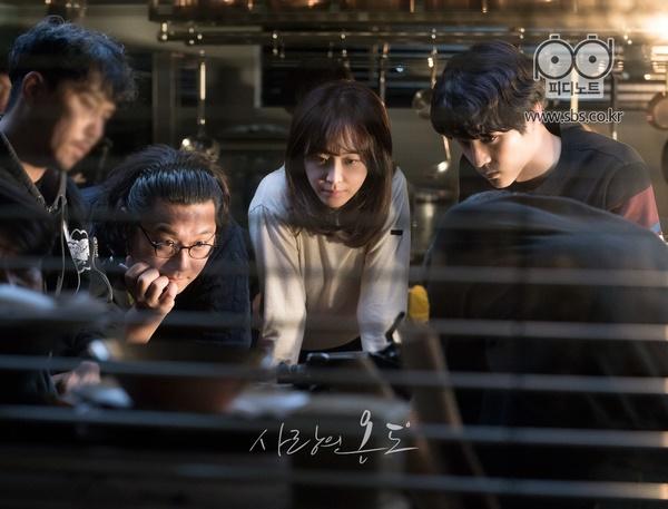 ▲'사랑의 온도' 촬영장 비하인드컷(사진=SBS)