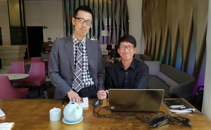 ▲조현정 COO (왼쪽), 조현선 CEO (오른쪽)