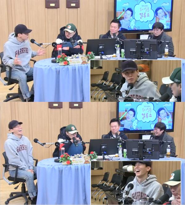 ▲'컬투쇼' 김무열 장항준(사진=SBS 파워FM)