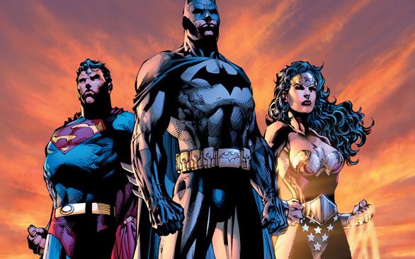 ▲DC코믹스 '배트맨', '슈퍼맨', '원더우먼'(사진=DC코믹스)