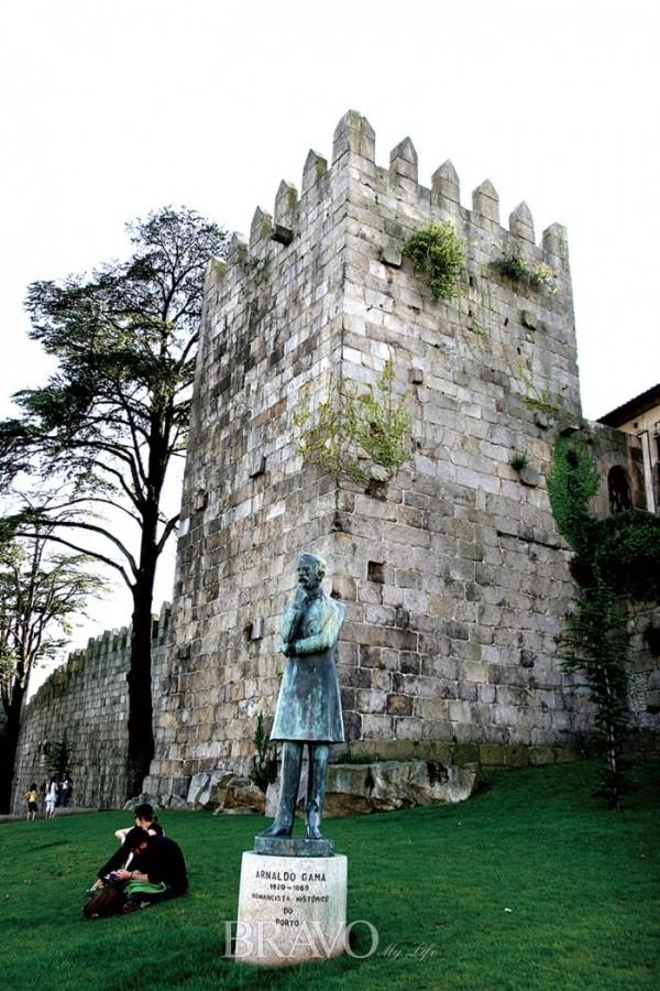 ▲14세기의 페르난디아 성벽