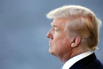 ▲도널드 트럼프 미국 대통령. 워싱턴D.C/EPA연합뉴스