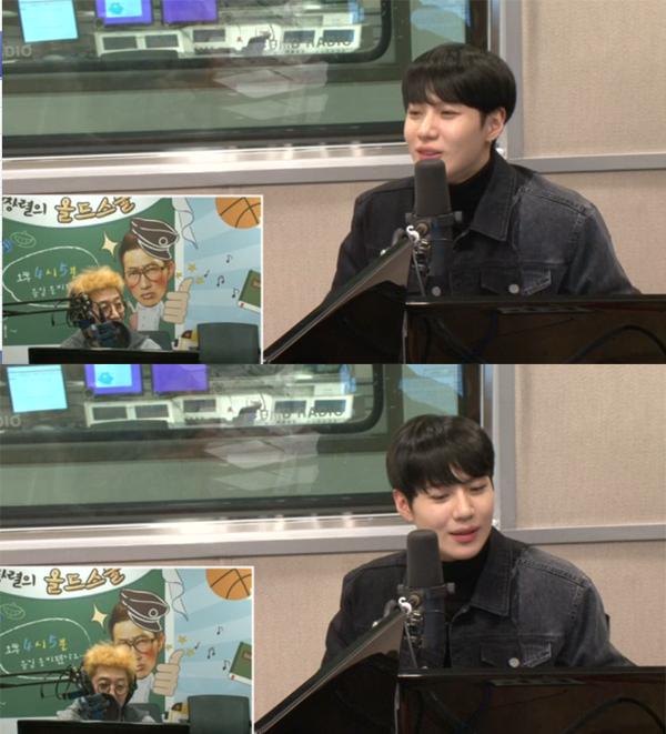 ▲'올드스쿨' 태민(사진=SBS 러브FM)
