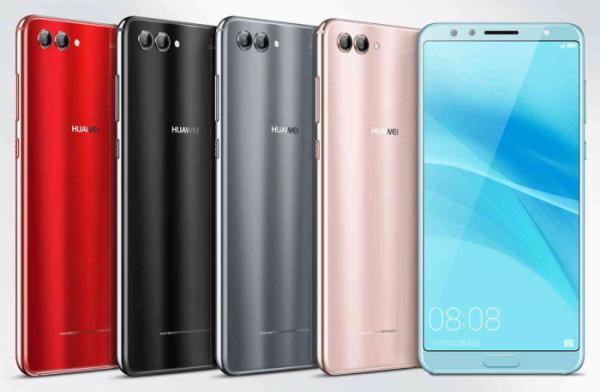 ▲크루셜텍의 BTP(모바일 지문 인식 솔루션)이 탑재된 중국 화웨이의 신규 스마트폰 'Nova 2S'.(사진=크루셜텍)