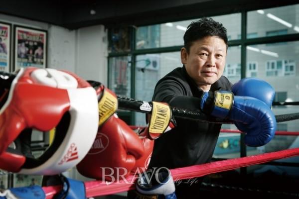 ▲유명우 전 WBA 주니어플라이급 챔피언(유진성 yk1ppt@naver.com)