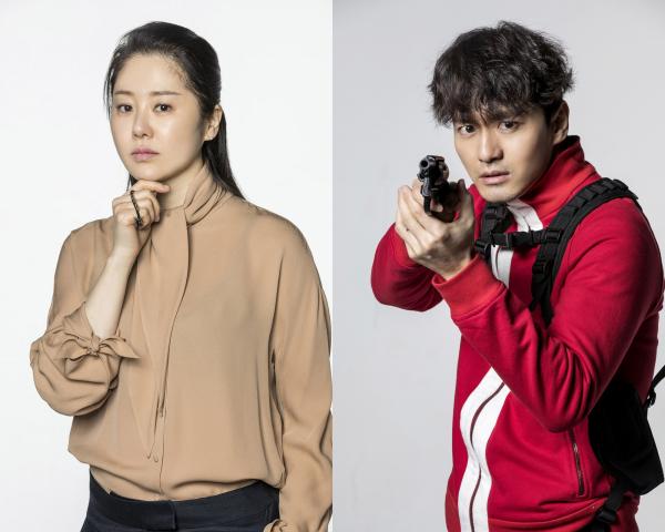 ▲SBS 새 수목드라마 '리턴'으로 호흡을 맞추는 고현정, 이진욱(사진=SBS)