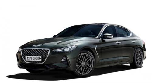 ▲제네시스 G70이 한국자동차기자협회가 뽑은 '2018 올해의 차'에 선정됐다. (사진제공=현대차)