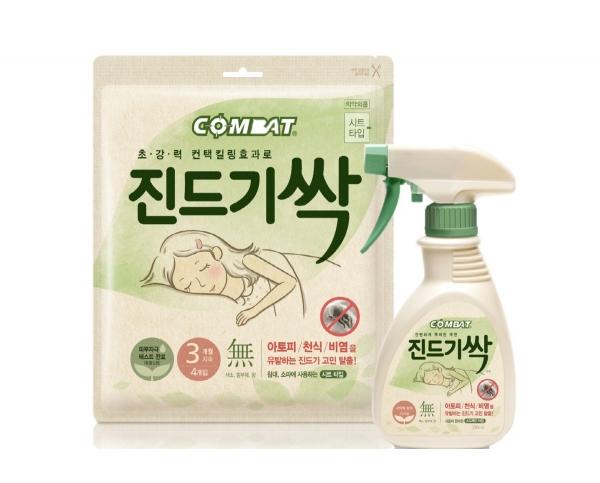 ▲헨켈코리아 '컴배트 진드기싹'