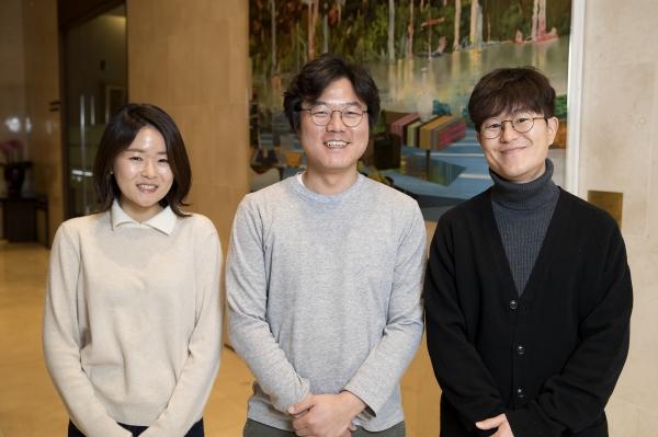 ▲(왼쪽부터) 이진주PD, 나영석PD, 김대주 작가(사진=CJ E&M)