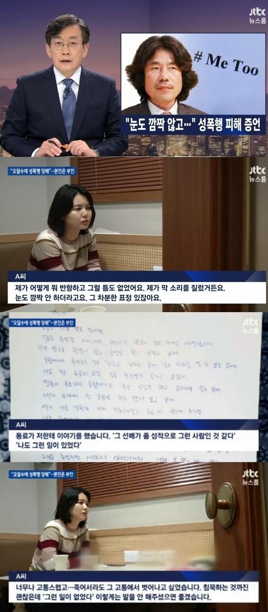 ▲오달수(출처=JTBC '뉴스룸' 방송캡처)