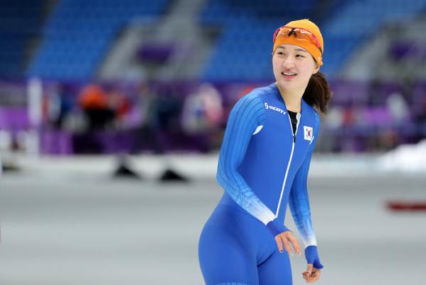 ▲스피드스케이팅 여자 1000m에 출전하는 박승희.(연합뉴스)