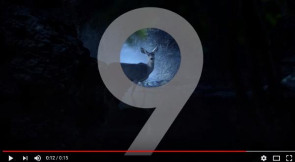 (갤럭시S9 티저 TV 광고 캡쳐)