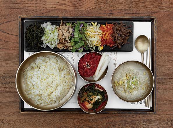 ▲목멱산방 비빔밥 메뉴(오병돈 프리랜서 obdlife@gmail.com)