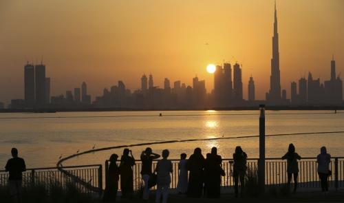 ▲아랍에미리트(UAE) 두바이 전경. 포브스는 28일(현지시간) UAE가 중동의 싱가포르가 될 잠재력을 갖고 있다고 진단했다. 두바이/AP뉴시스