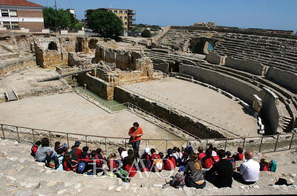 ▲타라고나의 로마 원형경기장(이신화 여행작가)
