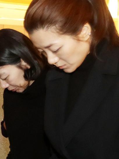 ▲조현민(오른쪽), 조현아 자매의 모습.(연합뉴스)
