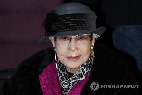 ▲원로배우 최은희(연합뉴스)