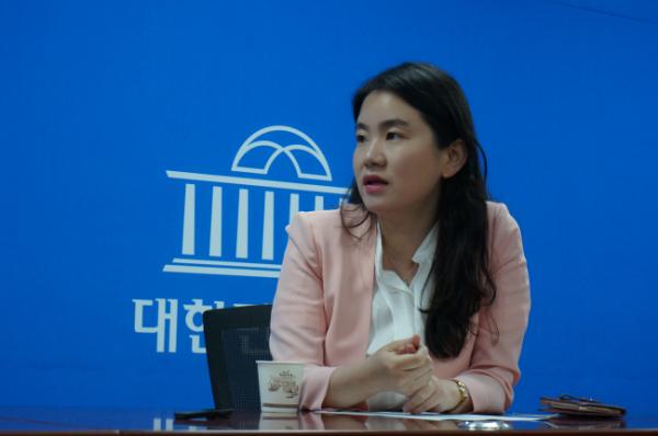 ▲자유한국당 신보라 의원(신보라 의원실 제공 )