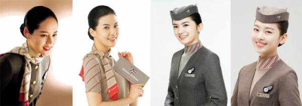 ▲한가인, 이보영, 유하나, 이수민(출처=아시아나항공)