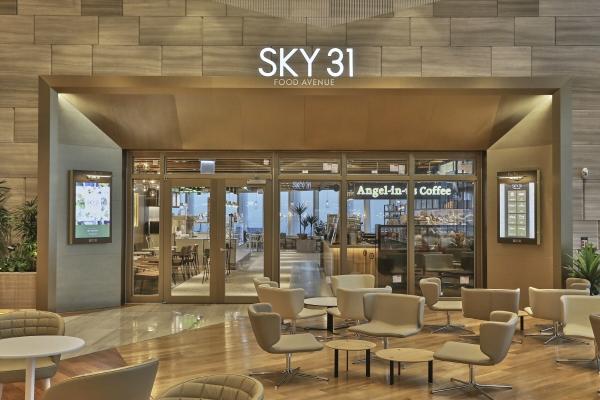 ▲롯데월드타워 31층에 있는 '스카이31'.