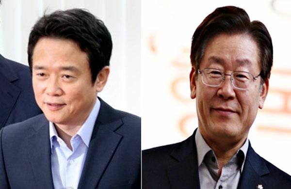 ▲남경필 지사(왼쪽)와 이재명 전 성남시장.(출처=연합뉴스, 이재명 페이스북)