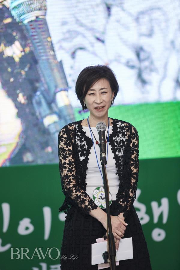▲물심양면으로 애쓴 88졸업생 대표를 맡은 고혜정 씨(사진 =오병돈)