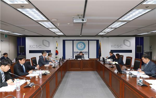 ▲방송심의소위원회 모습(방심위)