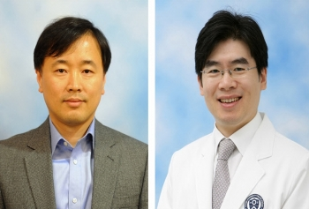 ▲연세대 김현석 교수(왼쪽), 정재호 교수(오른쪽).