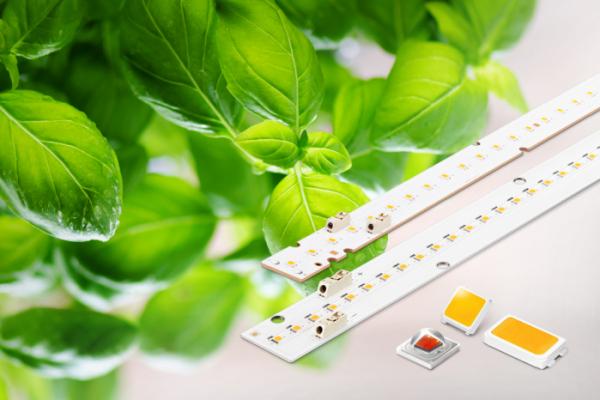 ▲삼성전자가 출시한 '식물생장용 LED 패키지 및 모듈' 제품 이미지(사진제공=삼성전자)