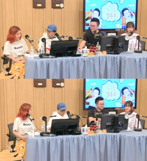 ▲'컬투쇼' 볼빨간사춘기(사진=SBS 파워FM)