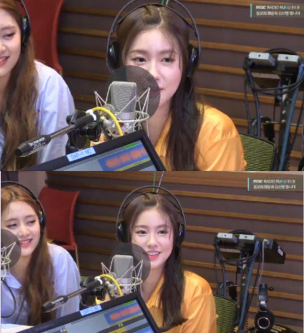 ▲'정희' 아이들 미연(사진=MBC FM4U)