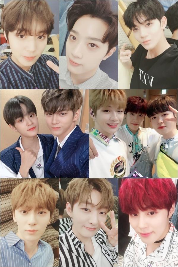 ▲워너원(출처=Mnet'엠카운트다운' 공식SNS)