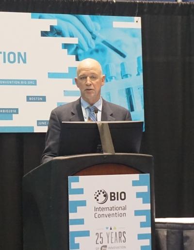 ▲프리퀀시 테라퓨틱스(Frequency Therapeutics)의 임상개발 담당 부사장(EVP) Carl Lebel 박사