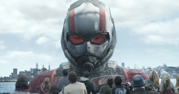 ▲Marvel Studios' ANT-MAN AND THE WASP..Ant-Man/Scott Lang in his Giant-Man form (Paul Rudd)..Photo: Film Frame..짤Marvel Studios 2018(사진=월트디즈니컴퍼니)
