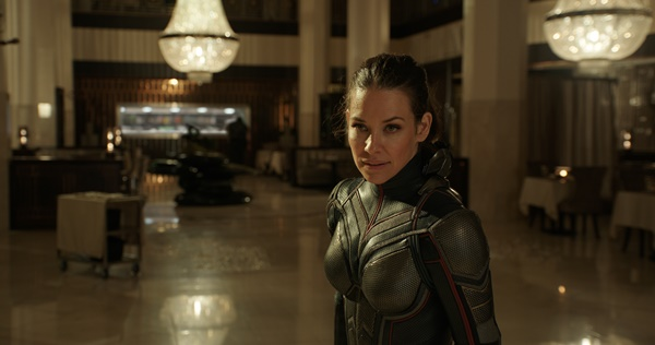 ▲Marvel Studios' ANT-MAN AND THE WASP..The Wasp/Hope van Dyne (Evangeline Lilly)..Photo: Film Frame..짤Marvel Studios 2018(사진=월트디즈니컴퍼니)