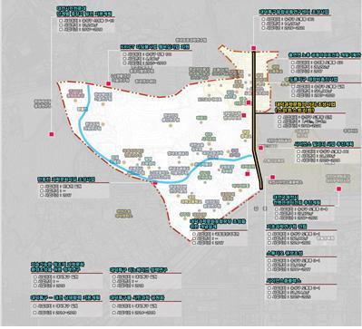 ▲부천시의 스마트 미세먼지 클린 특화단지 조성 계획 수립 사업도(사진=국토교통부)