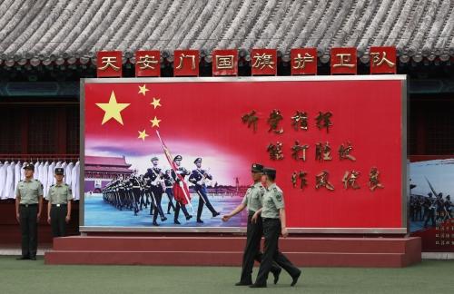▲중국발 상표출원이 전 세계적으로 급증하면서 시장 혼란에 대한 우려가 커지고 있다. 사진은 중국 베이징의 천안문광장. 베이징/EPA연합뉴스