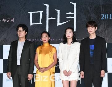 """""""클래스가 다르다""""...'마녀' 박훈정 감독X신예 ..."""