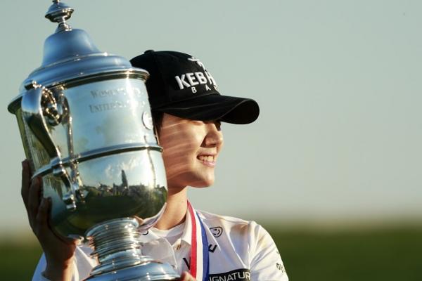 ▲지난해 US여자오픈 우승자 박성현이 컷오프됐다.(사진=USGA)