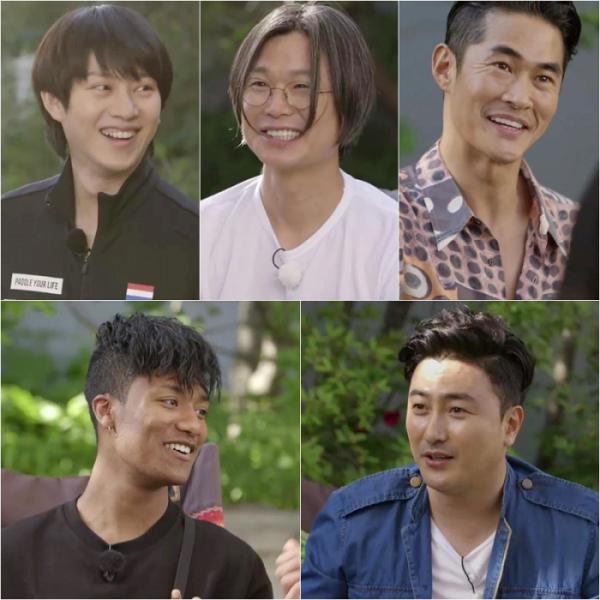 ▲'1%의 우정' 김희철 주진우 배정남 안정환 한현민(사진=KBS2)