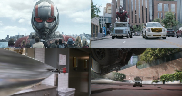 ▲Marvel Studios' ANT-MAN AND THE WASP..Ant-Man/Scott Lang in his Giant-Man form (Paul Rudd)..Photo: Film Frame..짤Marvel Studios 2018(사진=월트디즈니 컴퍼니 코리아)