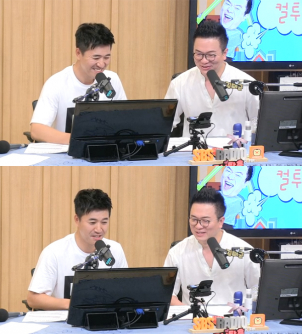 ▲'컬투쇼' 김종민(사진=SBS 파워FM)
