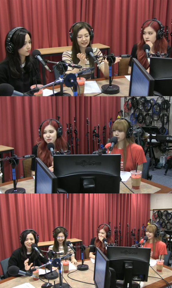 ▲'최파타' 블랙핑크(사진=SBS 파워FM)